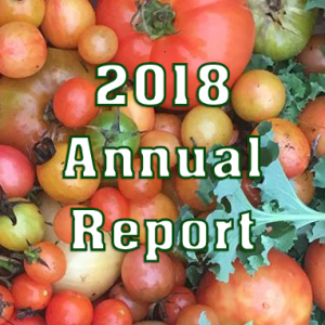 Wakefield Food Pantry 2018 Annual Report